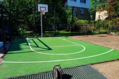 Małe boisko do koszykówki